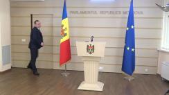 Declarațiile lui Vlad Batrîncea în timpul ședinței Parlamentului Republicii Moldova din 12 martie 2020