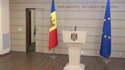 Declarația fracțiunii PSRM în timpul ședinței Parlamentului Republicii Moldova din 12 martie 2020