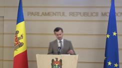 Declarațiile lui Dinu Plîngău în timpul ședinței Parlamentului Republicii Moldova din 12 martie 2020
