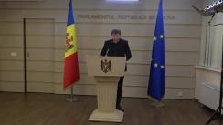 Declarațiile lui Lilian Carp în timpul ședinței Parlamentului Republicii Moldova din 12 martie 2020