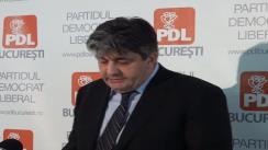 Conferință de presă susținută de Viceprimarul Capitalei Mircea Raicu pe tema licitațiilor trucate pentru contractele de asfaltare din București