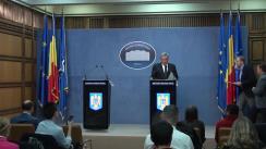 Conferință de presă după ședința Comitetului Național pentru Situații Speciale de Urgență