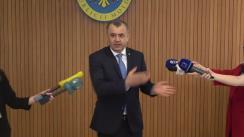 Briefing de presă după ședința Comisiei naționale extraordinare pentru sănătate publică