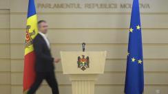 Declarație de presă susținută de către deputatul fracțiunii Pro Moldova, Sergiu Sîrbu, cu privire la funcția de membru al CSM din partea Parlamentului