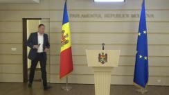Declarație de presă susținută de către deputatul Partidului ȘOR, Denis Ulanov, cu privire la funcția de membru al CSM din partea Parlamentului