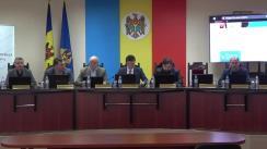 Briefing organizat de Comisia Electorală Centrală privind desfășurarea alegerilor parlamentare noi în circumscripția electorală uninominală nr 38, municipiul Hâncești