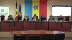 Briefing de presă organizat de Comisia Electorală Centrală referitor la desfășurarea alegerilor parlamentare noi în circumscripția electorală uninominală nr.38, municipiul Hâncești