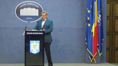 Conferință de presă organizată de Ministerul Afacerilor Interne