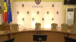 Conferință de presă susținută de Primarul general al municipiului Chișinău, Ion Ceban, privind situația la nivelul municipiului Chișinău, în contextul desfășurării acțiunilor de prevenire a infecției prin COVID-19