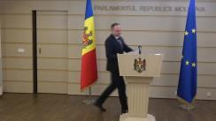 Declarațiile lui Andrian Candu în timpul ședinței Parlamentului Republicii Moldova din 17 martie 2020