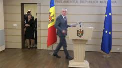 Declarațiile Fracțiunii ACUM Platforma DA în timpul ședinței Parlamentului Republicii Moldova din 17 martie 2020