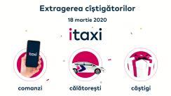 Extragerea câștigătorilor iTaxi
