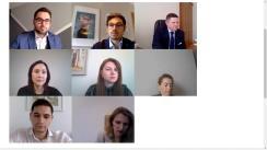 """EU Debates Cafe organizat de Institutul pentru Politici și Reforme Europene cu tema """"Impactul COVID-19 asupra Republicii Moldova: ce intervenții pe termen scurt și mediu sunt necesare pentru a minimiza efectele?"""""""