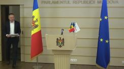 Briefing susținut de Grupul parlamentar Pro Moldova
