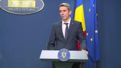 Conferință de presă după ședința Guvernului României din 30 martie 2020