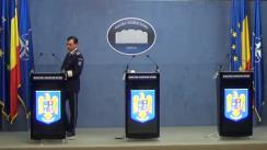 Declarație de presă susținută de ministrul afacerilor interne, Ion Marcel Vela și de secretarii de stat, Bogdan Despescu și Raed Arafat
