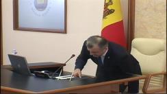 Ședința Guvernului Republicii Moldova din 1 aprilie 2020