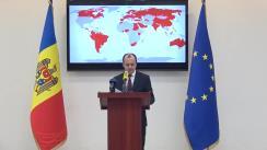Briefing de presă susținut de Ministrul Afacerilor Externe și Integrării Europene, Oleg Țulea, privind soluțiile elaborate de MAEIE pentru repatrierea cetățenilor Republicii Moldova aflați peste hotarele țării