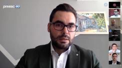 """EU Debates Cafe organizat de Institutul pentru Politici și Reforme Europene cu tema """"Impactul COVID-19 asupra Republicii Moldova: cum putem ameliora situația salariaților în perioada de criză?"""""""