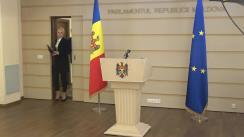 Declarația fracțiunii parlamentare a Partidului Politic ȘOR după ședința Parlamentului Republicii Moldova din 2 aprilie 2020