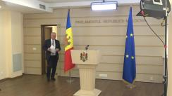 Declarațiile lui Chiril Moțpan după ședința Parlamentului Republicii Moldova din 2 aprilie 2020