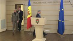 Declarația fracțiunii PSRM după ședința Parlamentului Republicii Moldova din 2 aprilie 2020