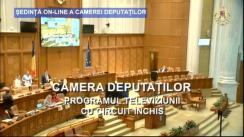Ședinta în plen a Camerei Deputaților României din 2 aprilie 2020