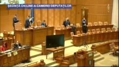 Ședinta în plen a Camerei Deputaților României din 3 aprilie 2020
