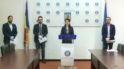 Declarație de presă susținută de ministrul Muncii și Protecției Sociale din România, Violeta Alexandru