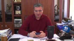 Conferință de presă susținută de Primarul Municipiului Bălți, Renato Usatîi, privind organizarea unei rute avia charter Beijing - Chișinău, pentru a livra echipament medical spitalelor și cetățenilor Republicii Moldova