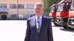 Declarațiile Președintelui României, Klaus Iohannis, după vizita la Centrul Național de Conducere și Coordonare a Intervenției