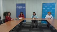 """Seminar organizat de Biroul Organizației Mondiale a Sănătății în Republica Moldova cu tema """"Alăptarea naturală și îngrijirile neonatale în perioada epidemiei cu COVID-19"""""""
