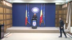 Declarație de presă susținută de Ministrul Afacerilor Interne din România, Ion Marcel Vela