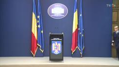 Declarație de presă organizată de Ministerul Afacerilor Interne din România
