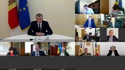 Ședința Guvernului Republicii Moldova din 21 aprilie 2020