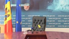 Briefing de presă susținut de Ministrul Economiei și Infrastructurii, Sergiu Răilean, privind măsurile imediate de susținere a mediului de afaceri, precum și politicile la care lucrează Ministerul Economiei și Infrastructurii pentru perioada post criză și relansare