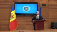 Briefing de presă susținut de Ministrul Afacerilor Externe și Integrării Europene, Oleg Țulea