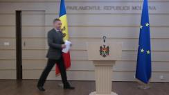 Declarație de presă susținută de către deputatul Octavian Țîcu privind Acordul de împrumut dintre Federația Rusă și Republica Moldova