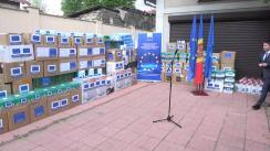 Asistența UE pentru raioanele Cahul și Ungheni în lupta cu noul coronavirus