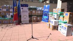 Ajutor acordat de UE celor două maluri ale Nistrului în lupta împotriva COVID-19