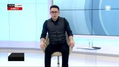 """Emisiunea """"Secretele Puterii"""", invitat - Liderul Partidului Nostru și primarul de Bălți, Renato Usatîi. Retransmisiune Jurnal TV"""