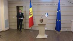 Declarațiile lui Andrian Candu în timpul ședinței Parlamentului Republicii Moldova din 23 aprilie 2020