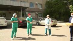 Evenimentul de transmitere a videolaringoscopului către Spitalul Raional Cahul procurat de cahulenii de pretutindeni