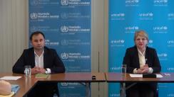 """Seminar organizat de Biroul Organizației Mondiale a Sănătății în Republica Moldova cu tema """"Vaccinarea la copii: mituri și dovezi"""""""