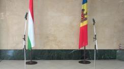Conferință de presă susținută de Ministrul Afacerilor Externe și Integrării Europene al Republicii Moldova, Oleg Țulea, și Ministrul Afacerilor Externe și Comerțului al Ungariei, Péter Szijjártó