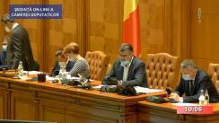 Ședinta în plen a Camerei Deputaților României din 29 aprilie 2020