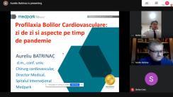 """Discuție informativă cu genericul """"Profilaxia bolilor cardiovasculare: Zi de zi și particularitățile în perioada pandemiei COVID-19"""""""