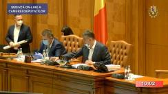 Ședința în plen a Camerei Deputaților României din 6 mai 2020