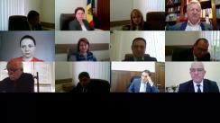 Ședința Consiliului Superior al Procurorilor din 7 mai 2020