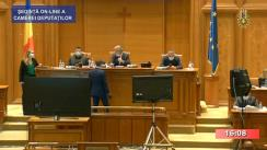 Ședința în plen a Camerei Deputaților României din 11 mai 2020